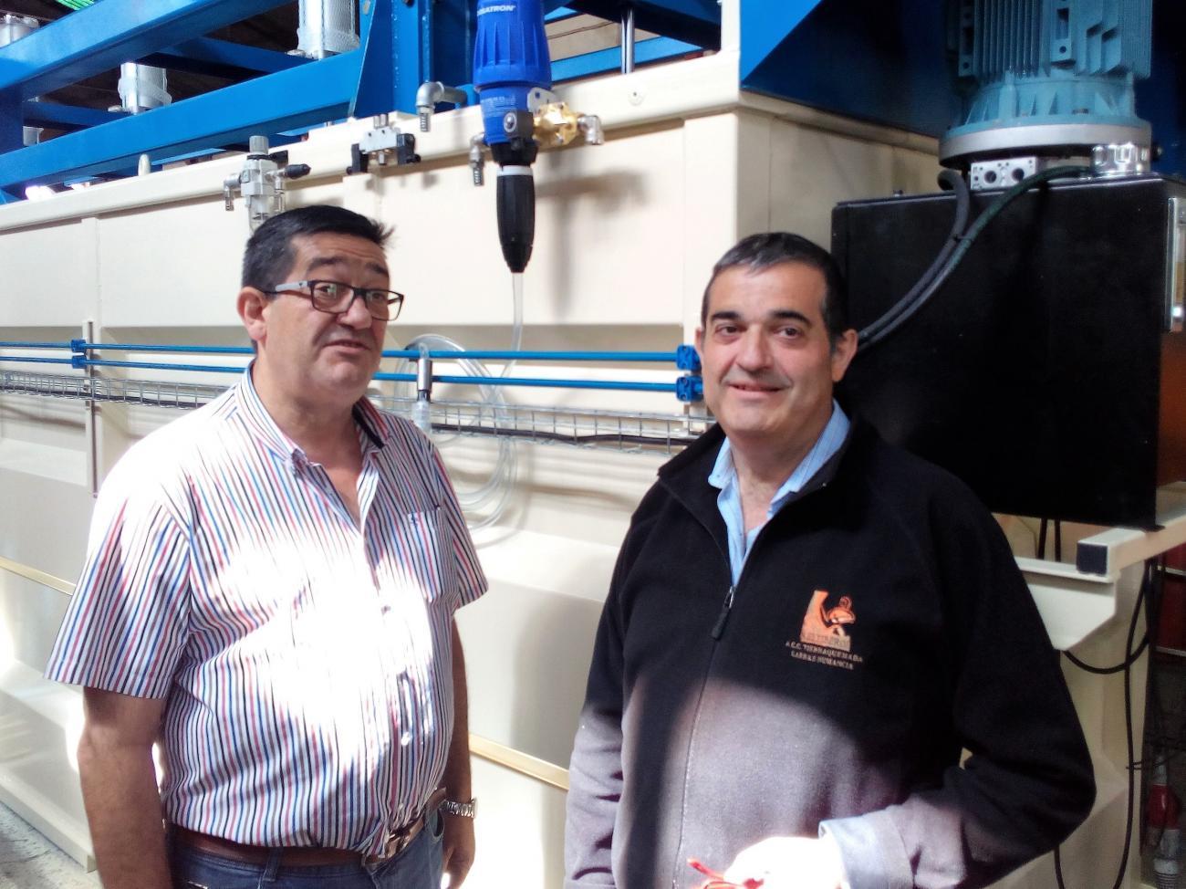 Tercera Generación de Talleres Mecánicos Santamaría. Julio y Alberto Santamaría