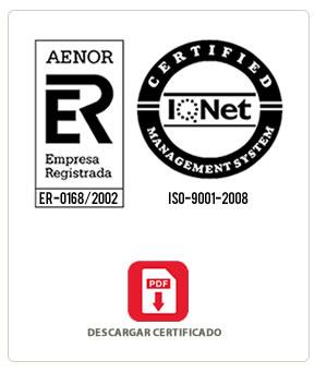 Certificados Tamesa