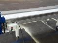 Cinta transportadora personalizada longitud, altura... Ajustada al material y normativa para el sector alimentación