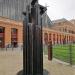 Escultura ubicada en la estación de Atocha